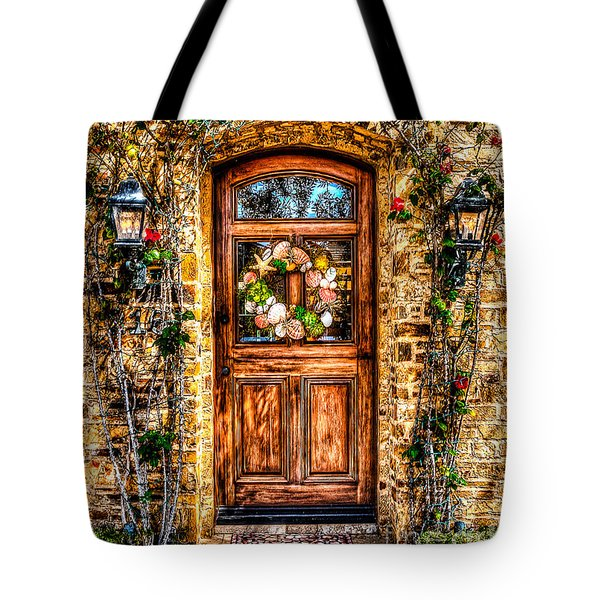 Beautiful Entry Tote Bag by Jim Carrell