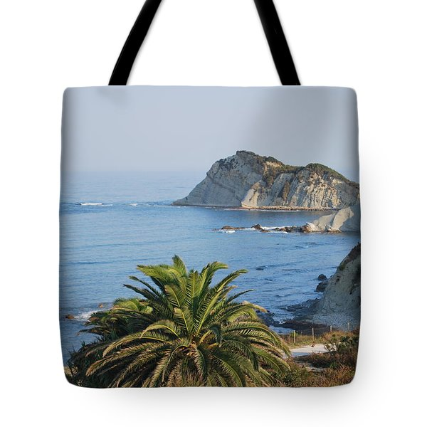 Tote Bag featuring the photograph Beautiful Erikousa 1 by George Katechis