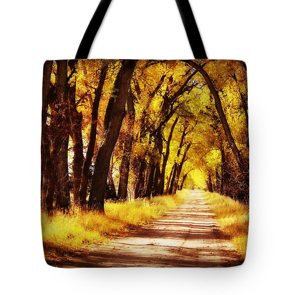 Beautiful Fall Day In Nebraska Tote Bag
