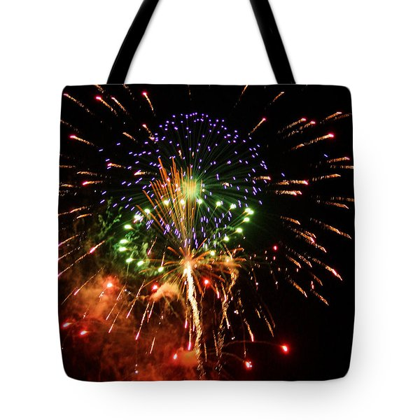 Beautiful Fireworks Works Tote Bag