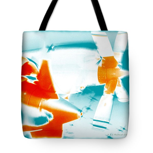 Tote Bag featuring the photograph Fixed Wing Aircraft Pop Art Poster by R Muirhead Art