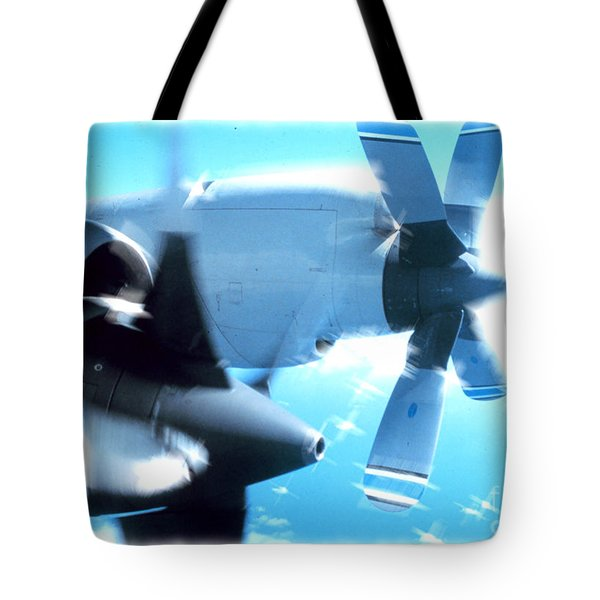 Tote Bag featuring the photograph Beautiful Fixed Wing Aircraft by R Muirhead Art