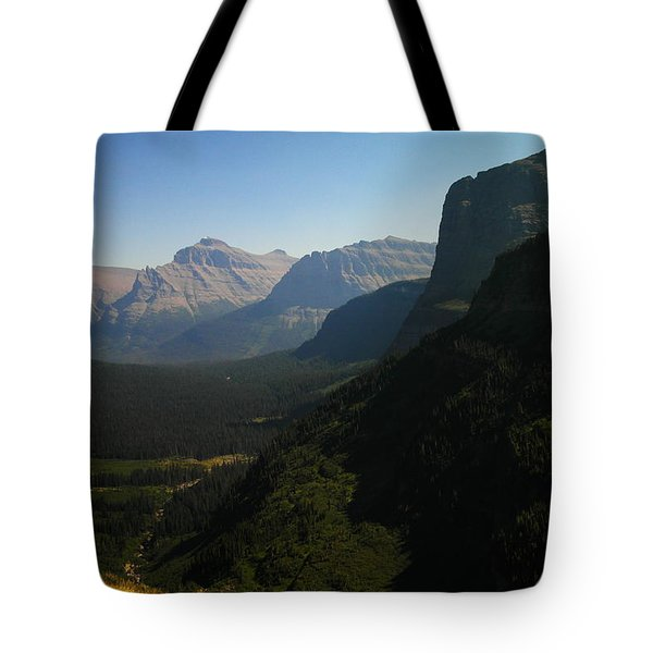 Beautiful Glacier National Park Tote Bag