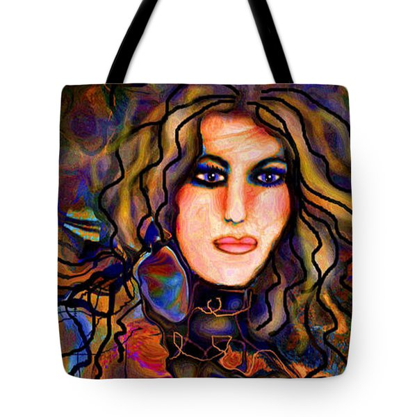 Beautiful Goddess Tote Bag by Natalie Holland