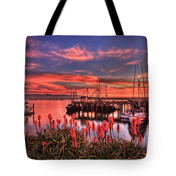 Beautiful Harbor Tote Bag