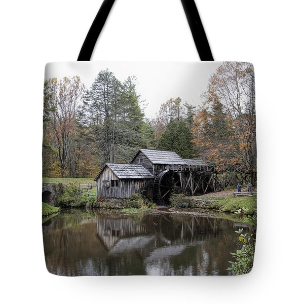 Beautiful Historical Mabry Mill Tote Bag
