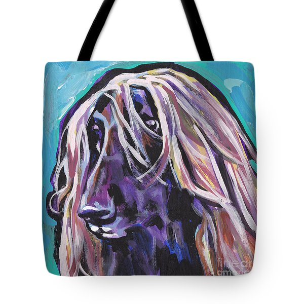 Beautiful Hound Tote Bag by Lea S
