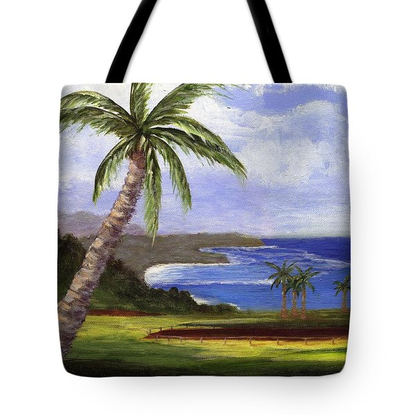 Tote Bag featuring the painting Beautiful Kauai by Jamie Frier