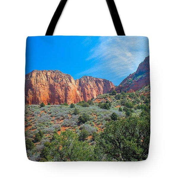 Beautiful Kolob Canyon Tote Bag by Robert Bales