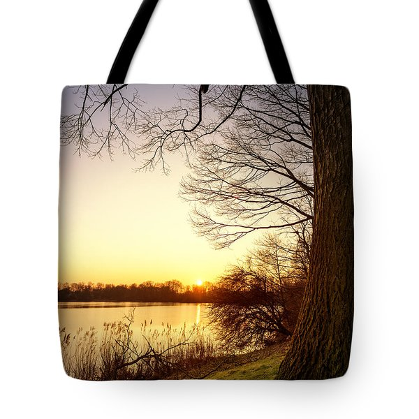Beautiful Lake Tote Bag
