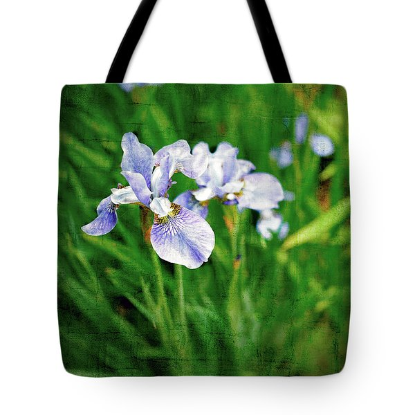 Beautiful Louisiana Hybrid Iris Tote Bag