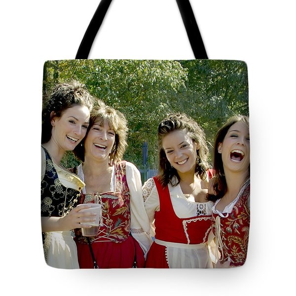 Beautiful Maidens Tote Bag by Brian Wallace