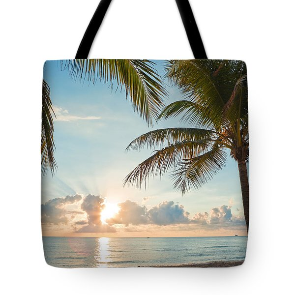 Beautiful Morning In Ft. Lauderdale Florida Tote Bag by Sharon Dominick