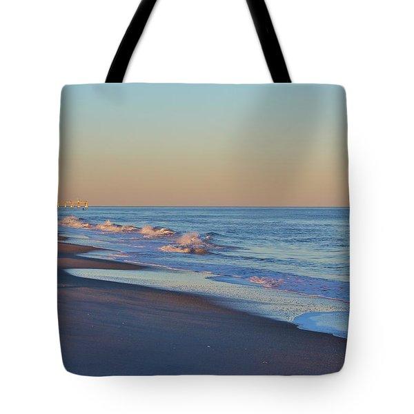 Beautiful Ocean In Nc Tote Bag by Cynthia Guinn