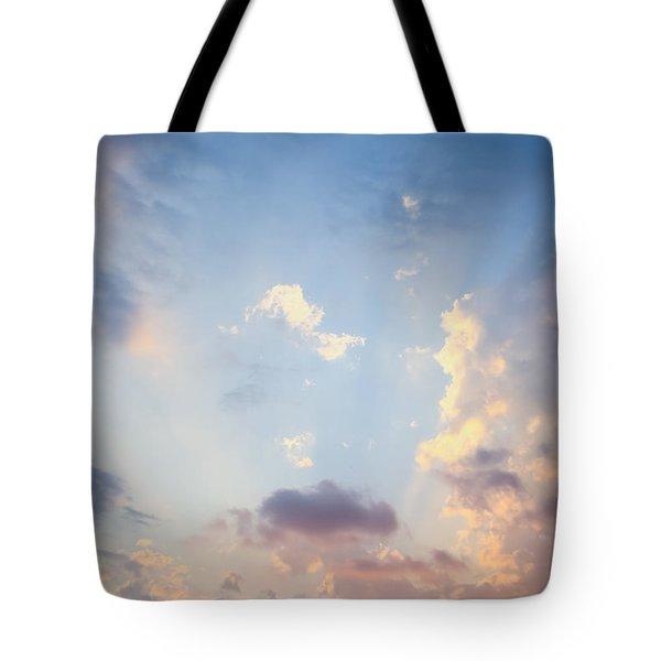 Beautiful Orange Sunset Tote Bag
