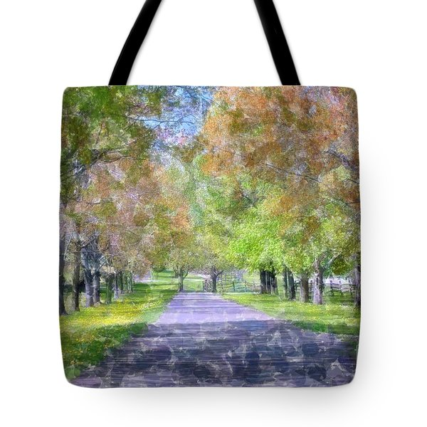 Beautiful Pathway Tote Bag by Kathleen Struckle