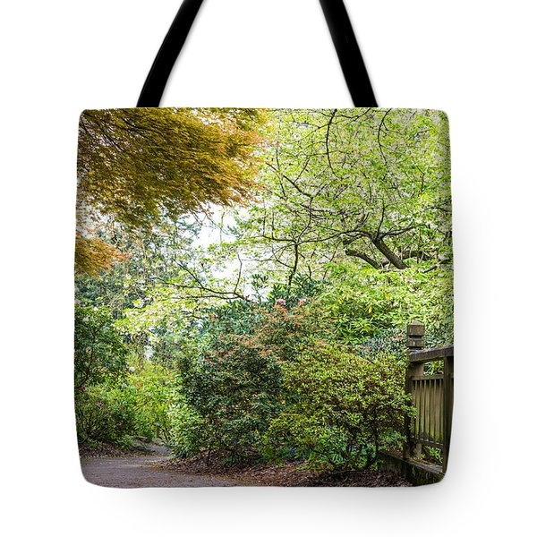 Beautiful Pathway Tote Bag by Priya Ghose