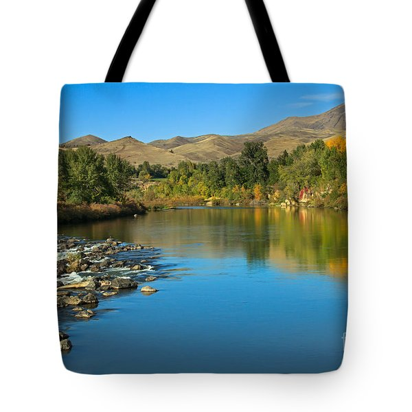 Beautiful Payette River Tote Bag by Robert Bales