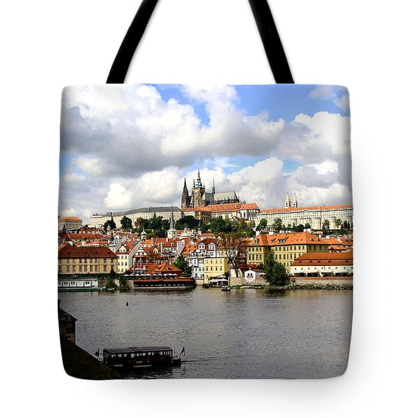 Tote Bag featuring the photograph Beautiful Prague by Ira Shander