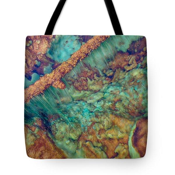 Beautiful Rebar Hot Springs Tote Bag