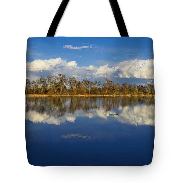 Beautiful Reflection Tote Bag by Ivan Slosar