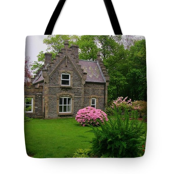 Beautiful Setting Tote Bag by John Malone