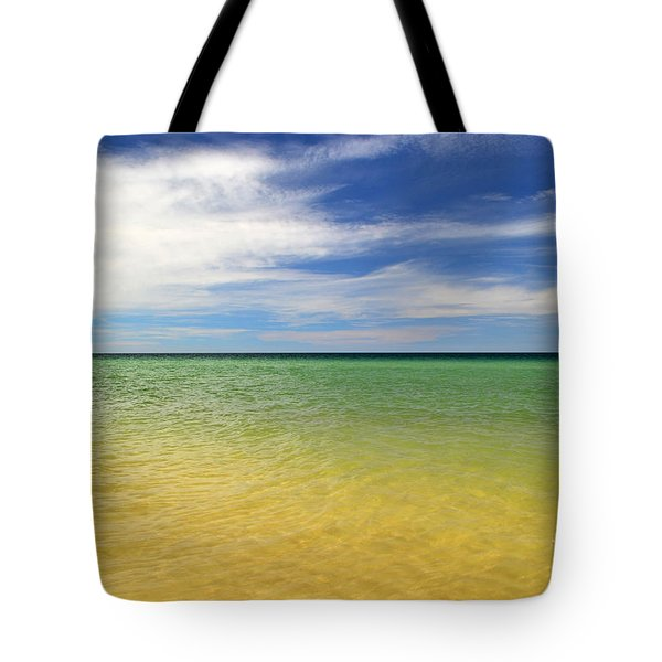 Beautiful St George Island Water Tote Bag
