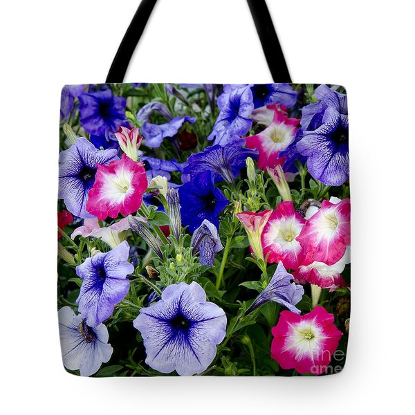 Beautiful Summer Annuals Tote Bag by Wilma  Birdwell