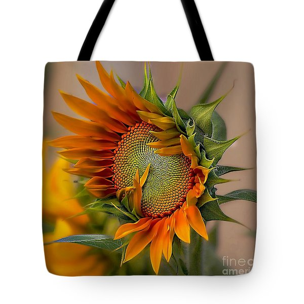 Beautiful Sunflower Tote Bag by John  Kolenberg