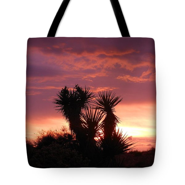 Beautiful Sunset In Arizona Tote Bag