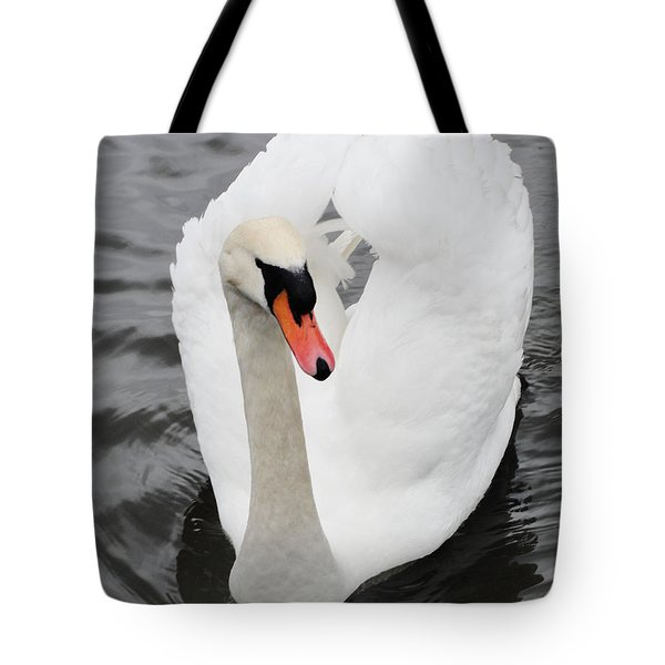Tote Bag featuring the photograph Beautiful Swan by Tiffany Erdman