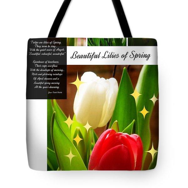 Beautiful Tulip Series 1 Tote Bag