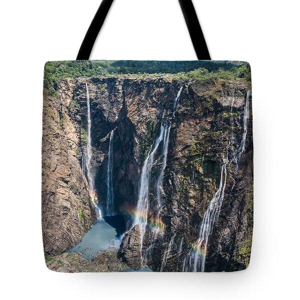 Beautiful Waterfalls In India Tote Bag