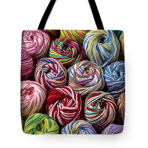 Beautiful Yarn Tote Bag