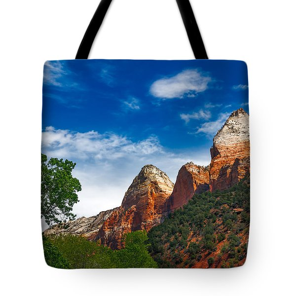Beautiful Zion Tote Bag by Robert Bales