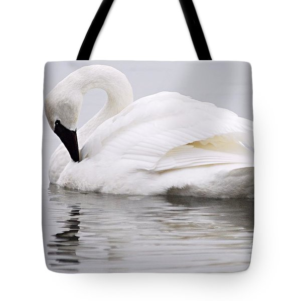 Beauty And Reflection Tote Bag