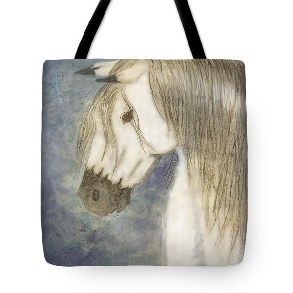 Beauty And Strength1 Tote Bag by Debbie Portwood
