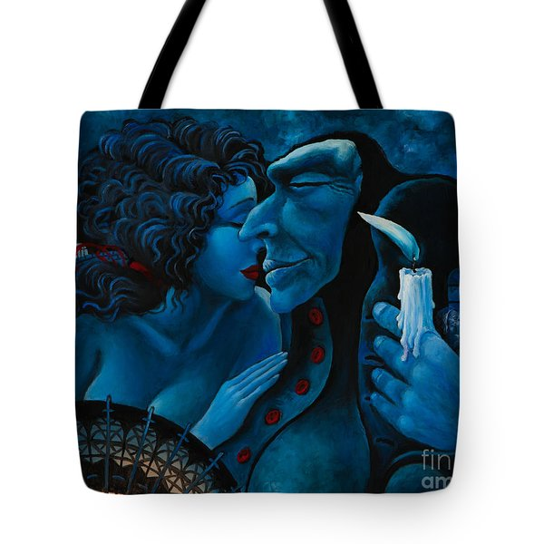 Beauty And The Beast Tote Bag by Igor Postash
