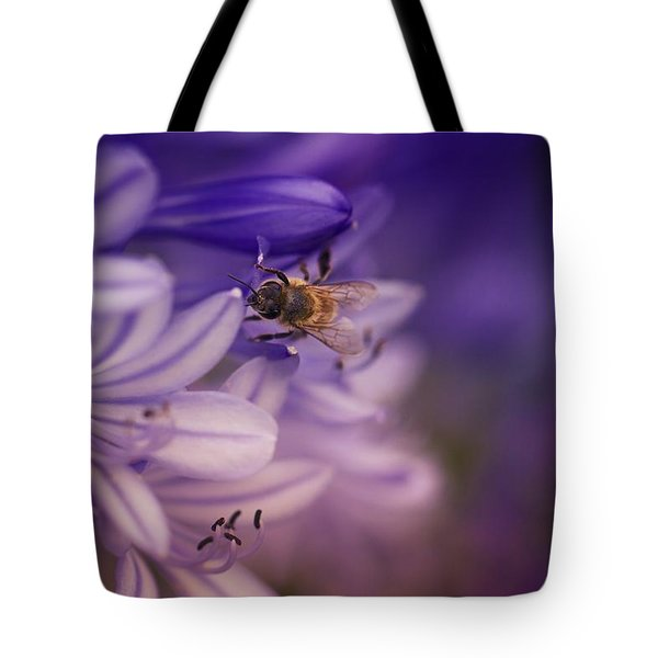 Beauty And The Bee Tote Bag