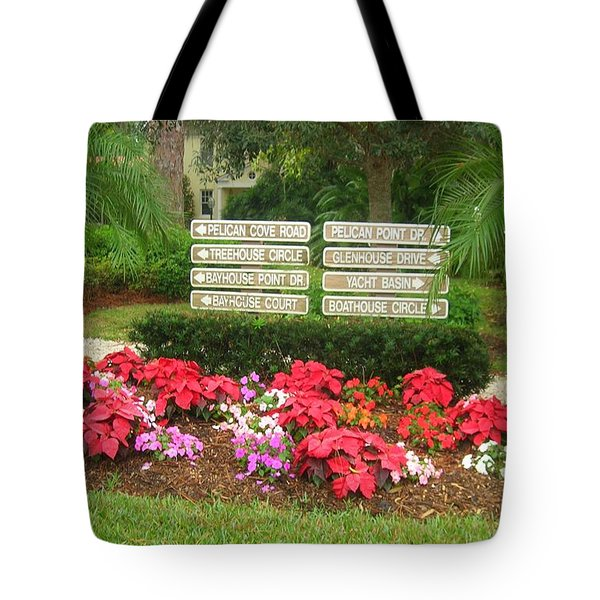 Beauty At Pelican Cove Tote Bag