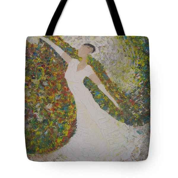 Beauty For Ashes Tote Bag by Rachael Pragnell