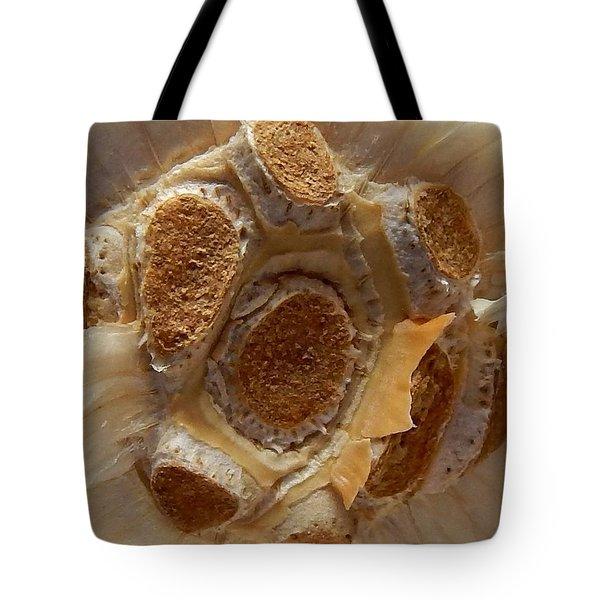Beauty In Garlic Tote Bag by Aliceann Carlton