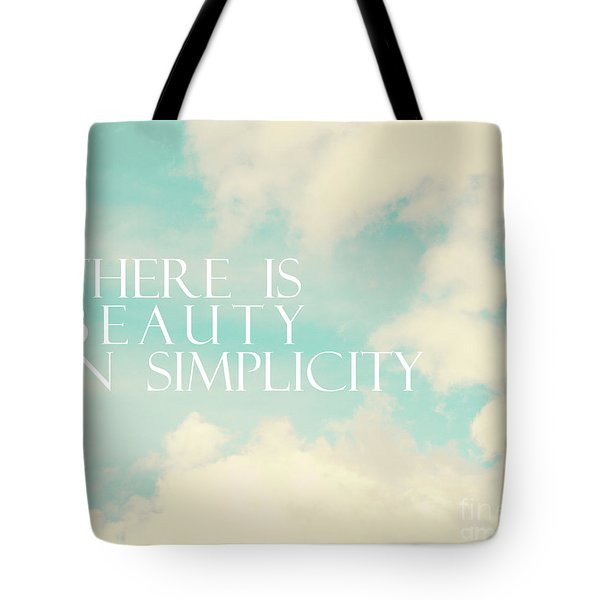 Tote Bag featuring the photograph Beauty In Simplicity by Sylvia Cook