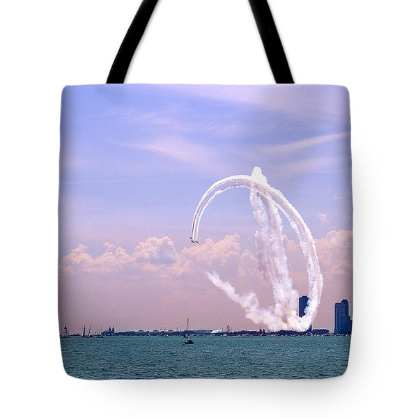 Beauty In The Air Tote Bag