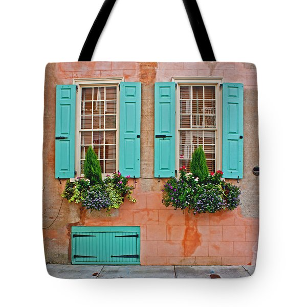 Beauty Of Charleston Tote Bag by Jean Haynes