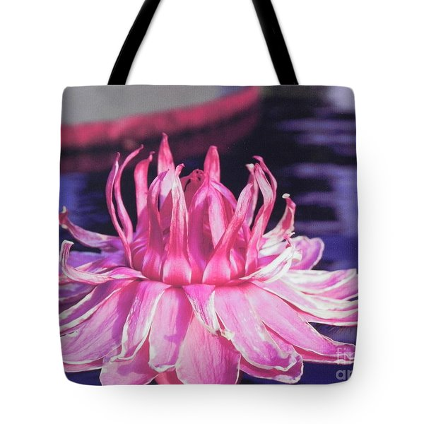 Tote Bag featuring the photograph Beauty Of Pink At The Ny Botanical Gardens by Chrisann Ellis