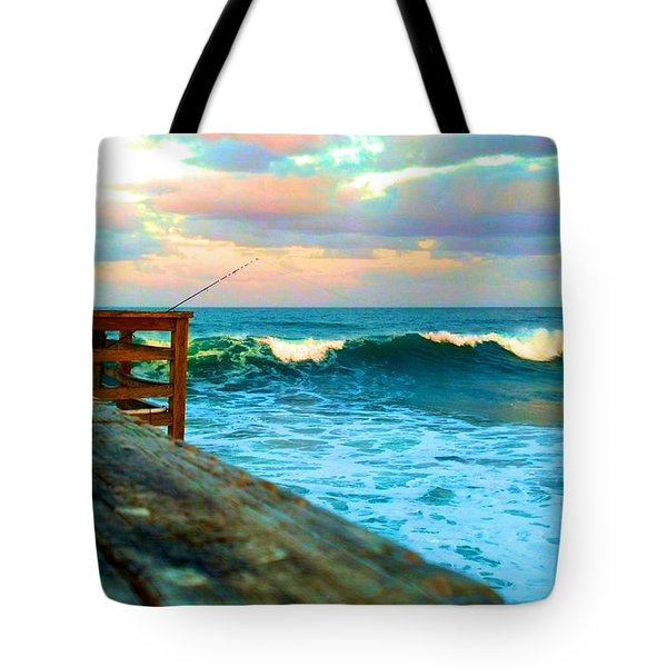 Beauty Of The Pier Tote Bag