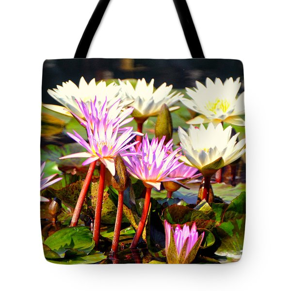 Tote Bag featuring the photograph Beauty On The Water by Marty Koch