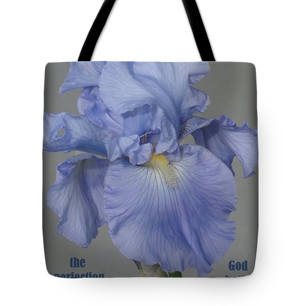 Tote Bag featuring the photograph Beauty Psalm by Christina Verdgeline