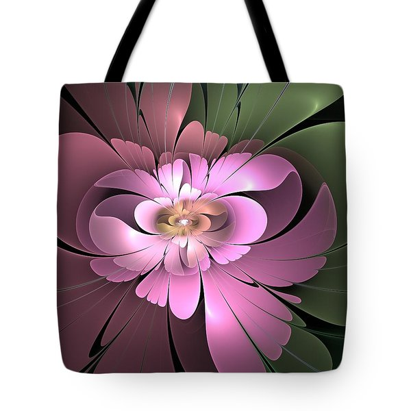 Beauty Queen Of Flowers Tote Bag